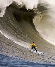 Big wave...