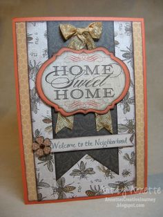 close to my heart card ideas | card my idea was to create a card for potential new neighbors always ...