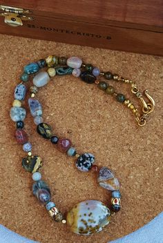 Ocean Jasper Beauty!!  With Brass and Gold Plated accents** by willeydesigns. Explore more products on http://willeydesigns.etsy.com