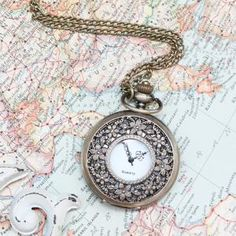 I always thought if I have a wedding dress with pockets (which I probably will), it would be neat to have a pocket watch.