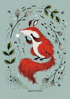 littlechien:  littlechien via miam-illustration miam-illustration:  By Kate Hindley / Source :katehindley