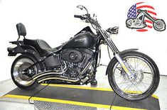 """2007 harley davidson softail - Categoria: Avisos Clasificados Gratis Item Condition: UsedCALL OR EMAIL US WITH QUESTIONS6107540451 OR 18887528500 PRESS 112 DON'T WAIT UNTIL THE END OR YOU'LL MISS IT!2007 HARLEY SOFTAIL NIGHT TRAIN FXSTB W MANY EXTRASBeautiful Bike! Black Denim Entire black driveline 6speed with 96"""" motor Only 12,620 miles Vance & Hines Big Radius pipes, led taillight with built in signals, Saddlemen gel seat, detachable sissy bar and rack, tank pouch, chrome switches, turn…"""