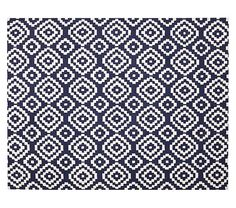 New favorite rug! We love this preppy pattern in a bright nursery or kids room.