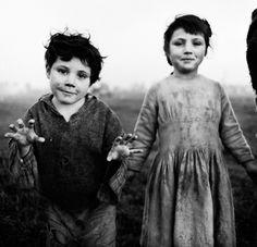 Europe: Irish traveler nomads, circa 1965