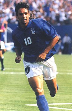 Roberto Baggio one of the finest football champions ever.