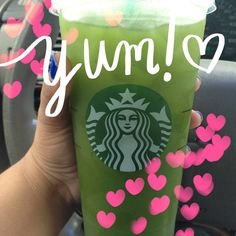 My newest Starbucks drink that's super healthy for you, oh and it's $. 82 Holla!!!