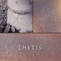THETIS – Aromaleigh Cosmetics  Thetis is a muted lilac satin finish base with a glowing reddish metallic duochrome effect.