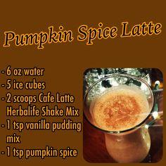 HERBALIFE Pumpkin Spice Latte