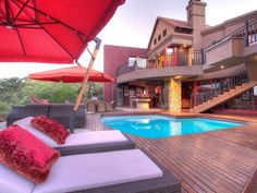 Glenvista Game Lodge style home for sale in Glenvista, South Africa Game Lodge, Lodge Style, Property For Sale, South Africa, Real Estate, Clouds, Mansions, House Styles, Home Decor