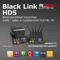 Black Link HD5 reklama