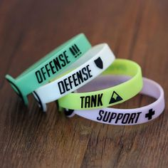 Represent your main role with these awesome Overwatch Role Bracelets! Choose from Offense, Defense, Tank, or Support! Which role do you main? We suggest ordering more than 1! You can buy up to 4 and the shipping price will still be the same! Switch up bracelets or give one to a friend!