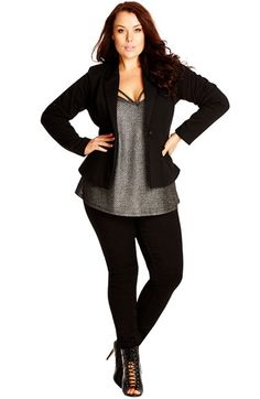 Clothes for Romantic Night - Stylish plus size outfits for winter 2017 78 - If you are planning an unforgettable night with your lover, you can not stop reading this! Outfits Plus Size, Curvy Outfits, Stylish Outfits, Fashion Outfits, Fashion Ideas, Plus Zise, Mode Plus, Look Plus Size, Plus Size Work