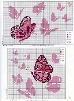 Cross Stitch Sea, Cross Stitch Fruit, Cross Stitch Letters, Butterfly Cross Stitch, Beaded Cross Stitch, Cross Stitch Borders, Cross Stitch Animals, Modern Cross Stitch Patterns, Cross Stitch Kits