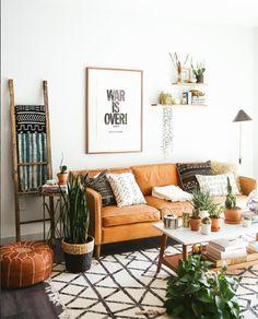 12 razones (visuales) para poner un sofá de cuero en tu vida · 12 (visual) reasons why to own a leather couch