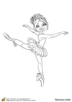 Coloriage Danseuse De Ballet.61 Images Succulentes De Coloriages De Danse Coloring Pages Nice