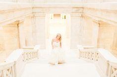 Capitol Building Bridals Little Rock AR // Haley // Arkansas Wedding Photographer