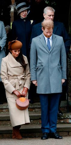 Meghan Markle shows she's ready to be a true princess with first public curtsey outside Sandringham church service - Mirror Online