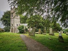 Small church at the Hill of Tara, Co. Meath, Ireland
