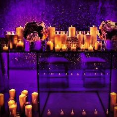 Acrylic Tables | Candles | Chandeliers