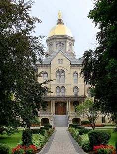 Notre Dame!  Loved visiting this place!