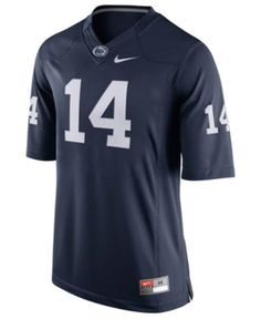 b26d31bb57e Nike Men's Penn State Nittany Lions Limited Football Jersey - Blue M