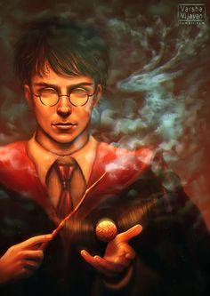 Harry Potter by Varsha Vijayan