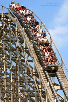 I love roller coasters. This looks fun!