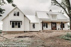 Plan Modern Farmhouse Plan with Bonus Room – Farmhouse Plans