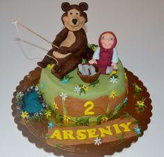 Masha e Orso per il piccolo Arseniy