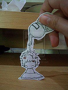 Gaara paper art. :)