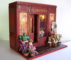 Pequeñeces: Floristería- Florist's