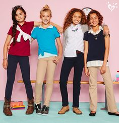 Who says school uniforms has to be boring? Add a cool belt ...