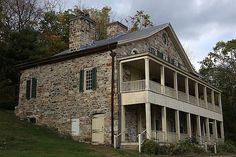 """Oxford (Warren County) - Shippen Manor was built in 1755 by William and Joseph Shippen, owners of the Oxford Furnace. Like many historic buildings, it is said to be haunted and was featured on the TV show, """"Ghost Hunters."""" While shooting the show they said they recorded this sound of someone calling out, """"Help me."""""""