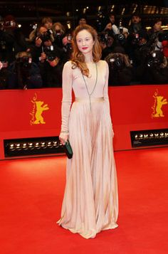 Gorgeous gown. Andrea Riseborough was in Dior at the 62nd Berlin International Film Festival. Discover the latest news of the House on www.dior.com