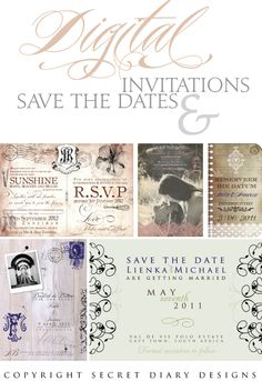 save the dates i like the top right with the pic in it :)