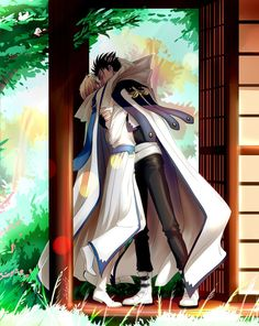 'In the garden' by Sabanty Kurogane / Fai TRC Manhwa Manga, Manga Anime, Anime Art, Blonde Anime Girl, Xxxholic, Card Captor, Pop Culture Art, Manga Artist, Hot Anime Guys