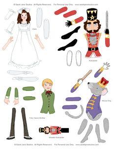 Nutcracker Suite Puppets