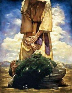 Mateo 8:1-3 Cuando descendió Jesús del monte, le seguía mucha gente. Y he aquí vino un leproso y se postró ante él, diciendo: Señor, si quieres, puedes limpiarme. Jesús extendió la mano y le tocó, diciendo: Quiero; sé limpio. Y al instante su lepra desapareció.