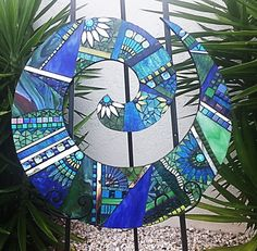 Mosaic Koru Made by Kim Steiner