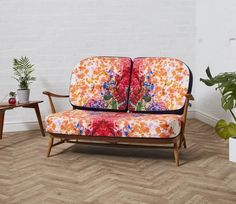 The Ercol Studio Couch – Reloved Upholstery & Design G Plan Furniture, Ercol Furniture, Ercol Chair, Armchair, Couch Makeover, Timorous Beasties, Mid Century Chair, Scatter Cushions, Dining Chair Set