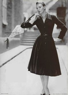1955 Christian dior velours de raimon