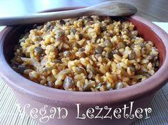 Vegan Lezzetler: Pilavlar