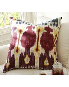 Pottery Barn Zoe Ikat Pillow Cover from Pottery Barn | BHG.com Shop
