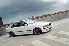 BMW E39 5 series white