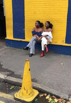 Pinner wrote: These Nigerian twins have style, squared.