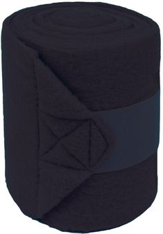 df907e2f598 Partrade P-Pol0 Fleece Bandages For Horses- Black 9 Foot - 4 Pack Polo