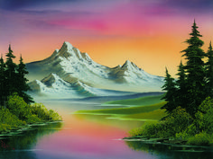 Image result for bob ross paintings