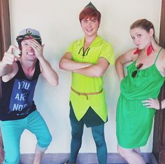 <3 <3 <3 <3 <3  Andrew & Hali with Peter Pan at Disney World!!!  <3 <3 <3 <3 <3