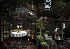 Design Hotel, Sexy Hotel in London, Anouska Hempel Design, Blakes Hotel - great afternoon tea