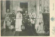 BU-F-01073-1-07451 Familia regală a României: regele Carol I, principele Ferdinand, principesa Maria, regina Elisabeta, 1909 (niv.Document)